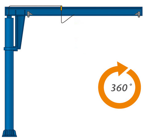how to build a small jib crane